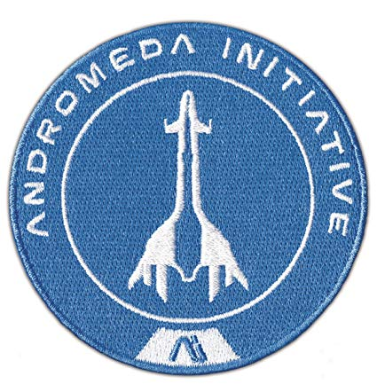 Entertainment Earth DH00122 Mass Effect Andromeda Tempest Crew Embroidered  Patch.