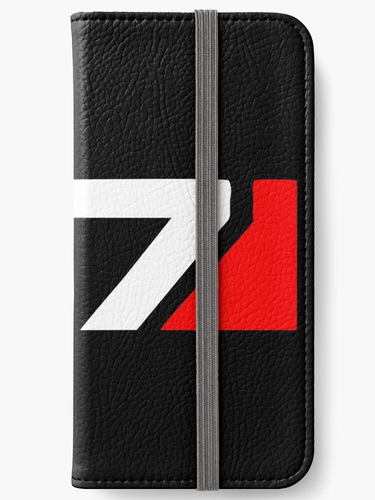 'Mass Effect N7 Logo' iPhone Wallet by girlyson.