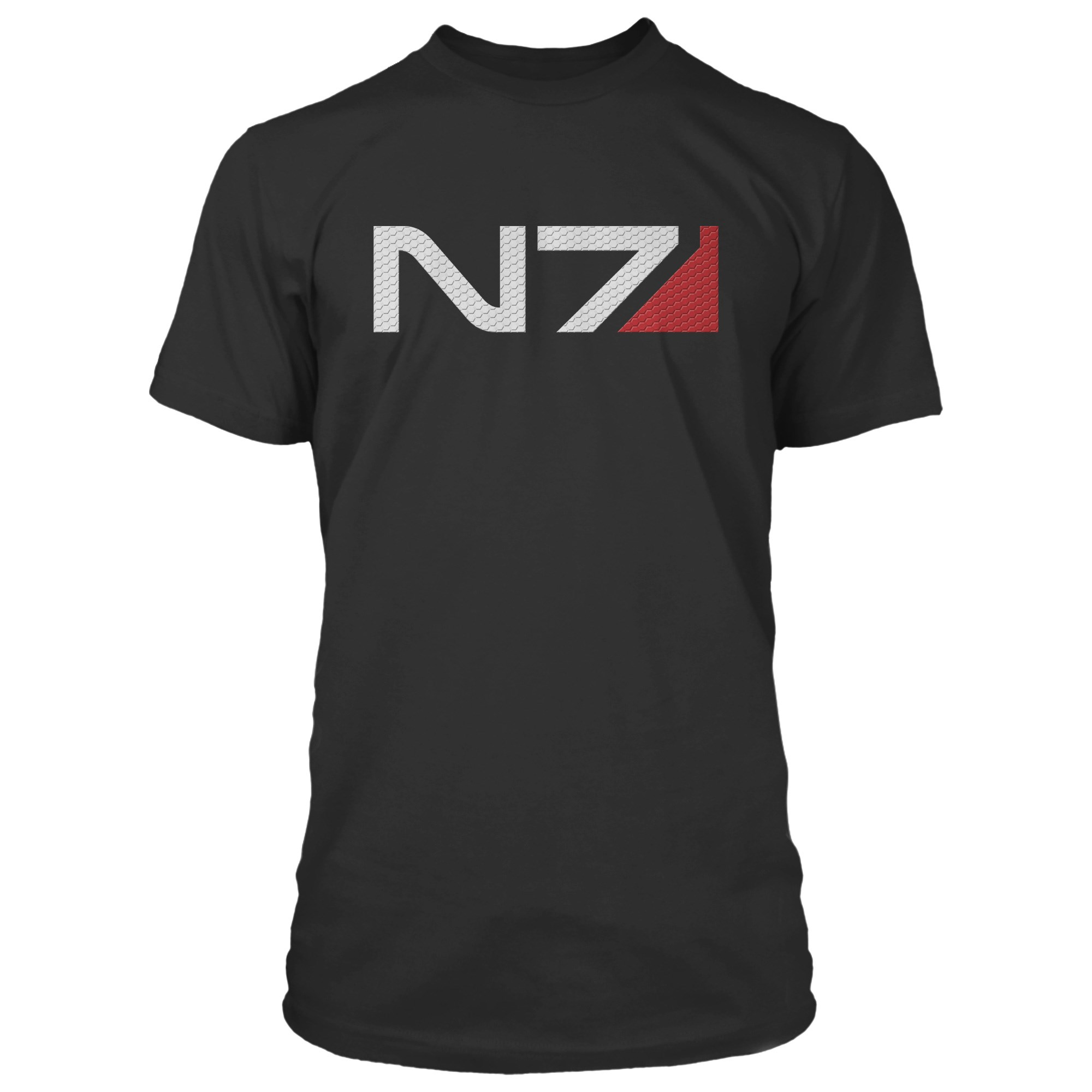 Details about Mass Effect N7 Logo Premium Adult T.