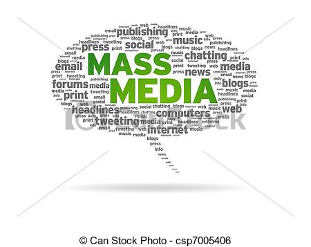 Mass Media Clip Art.