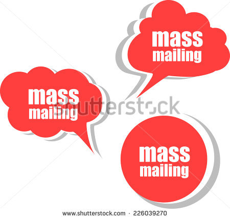 Mass Mail Stock Images, Royalty.