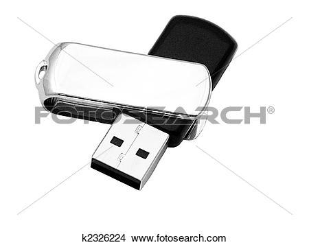 Stock Photo of usb mass storage device k2326224.