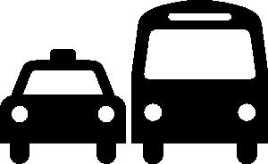 Ground Transportation Symbol Sign Clip Art at Clker.com.