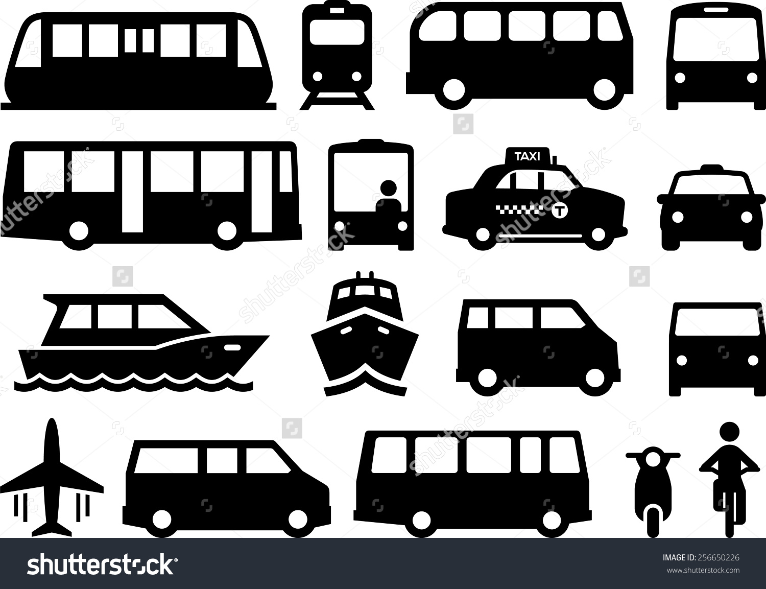 public transport clipart clipground