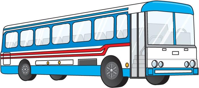Public transportation clipart.