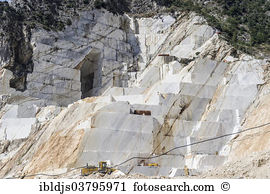 Marble quarry carrara tuscany italy Images and Stock Photos. 432.