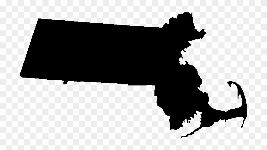 Massachusetts Silhouette Clipart (#172923).