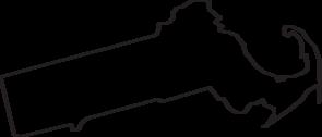 Massachusetts Outline Clip Art at Clker.com.