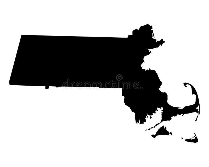 Map Massachusetts Stock Illustrations.