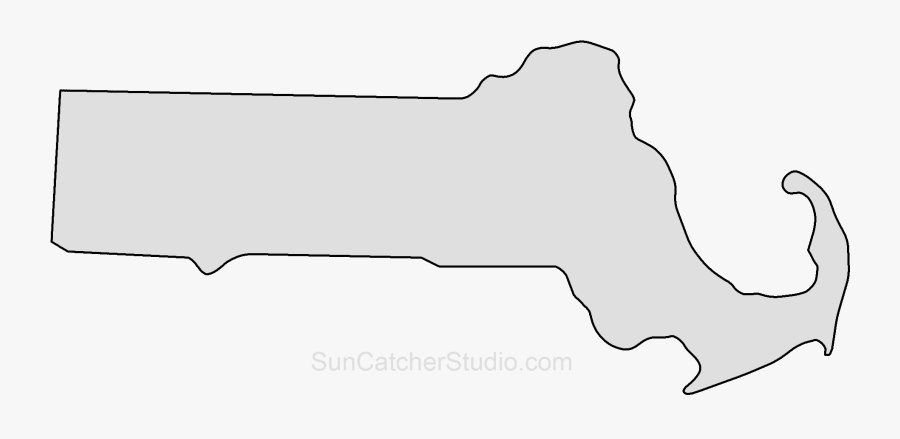 Clip Art Outline Printable State Shape.
