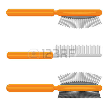 754 Massage Brush Stock Vector Illustration And Royalty Free.