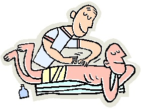 massage therapist clipart #5