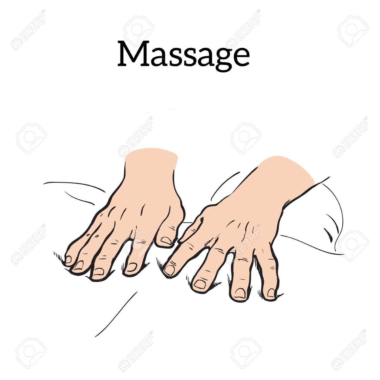 Hand massage, back massage, body massage..