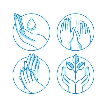 5,387 Massage Hands Stock Vector Illustration And Royalty.