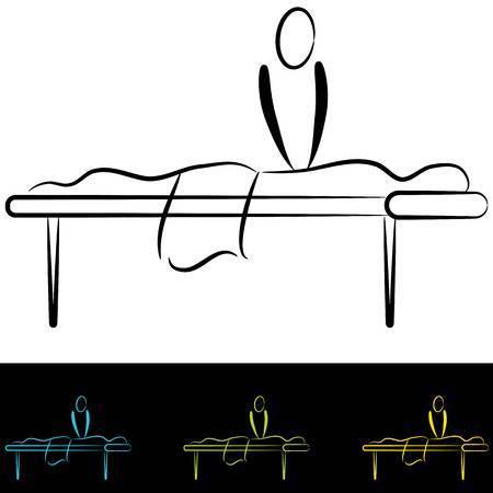 Massage table clipart » Clipart Portal.