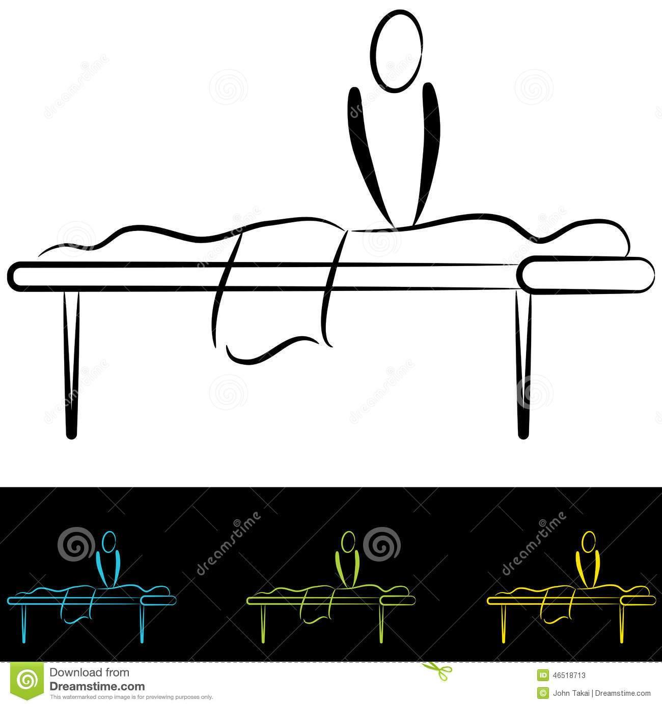 Massage table clipart 8 » Clipart Portal.