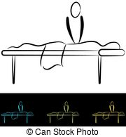 Massage table Stock Illustrations. 1,221 Massage table clip.