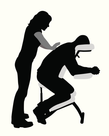 Massage Therapy Silhouette Clip Art, Vector Images & Illustrations.