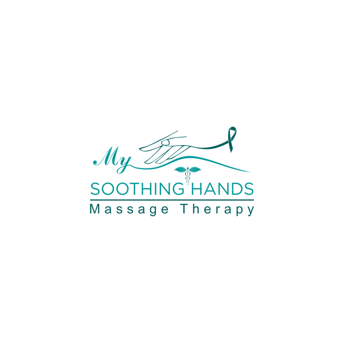 Create a massage therapy logo for gentle style massage.