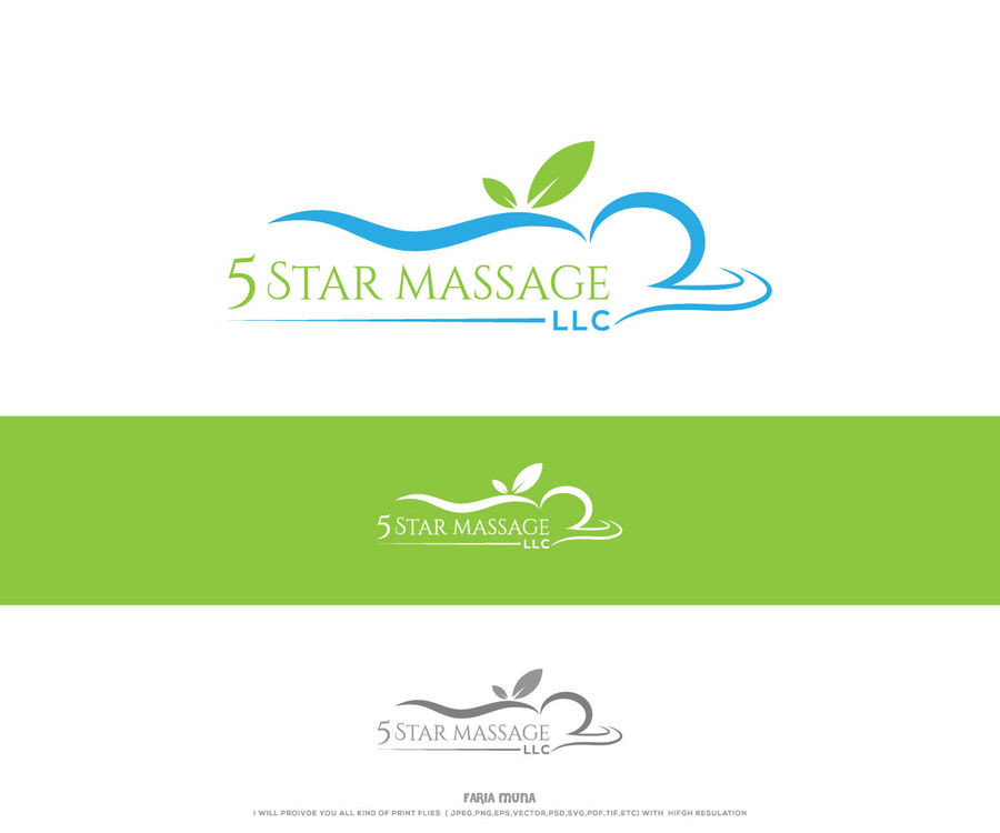 Entry #96 by FariaMuna for logo design for small massage.