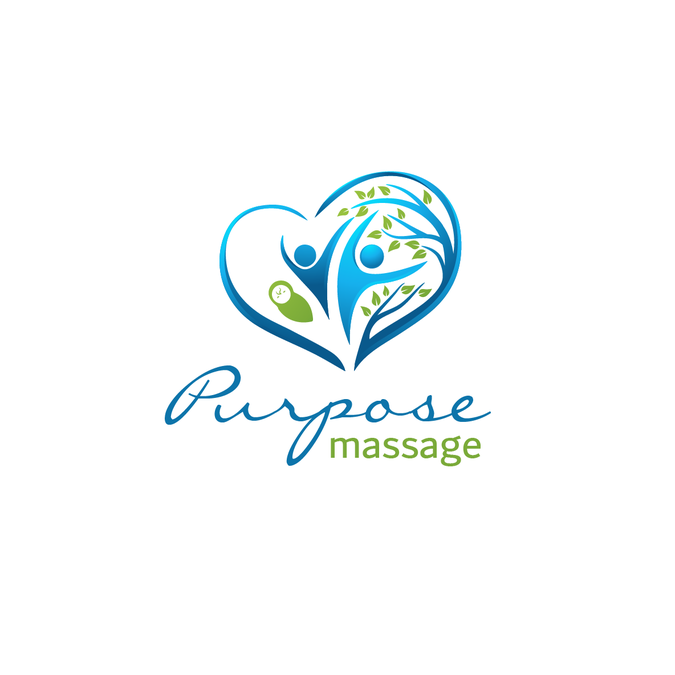 Design a massage therapy logo that encompasses all stages of.