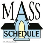 Church Schedule Clipart.