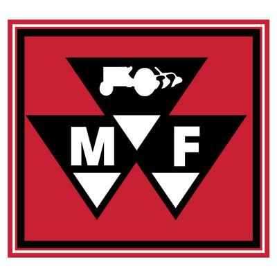 Massey Ferguson Triangle Logo 20x 22 Vinyl Banner.
