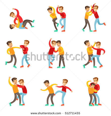Fight Stock Images, Royalty.