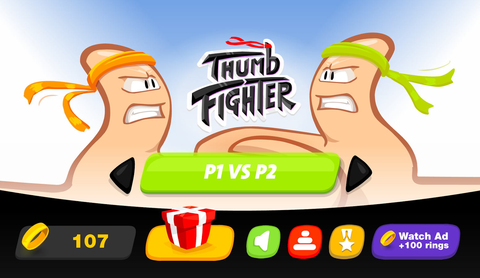 Thumb Fighter.