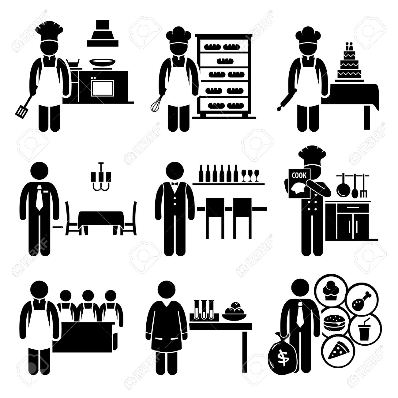 13,174 Baker Stock Illustrations, Cliparts And Royalty Free Baker.