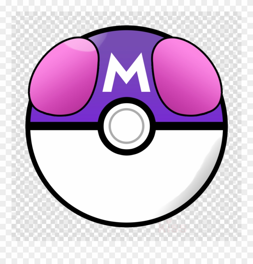 Pokeball Master Ball Png Clipart (#1099842).