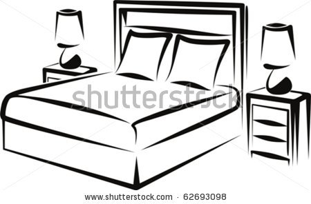 Bedroom Clipart.