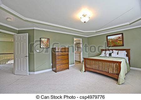 Stock Images of Master bedroom.