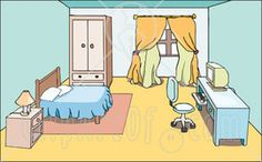 Clipart master bedroom.