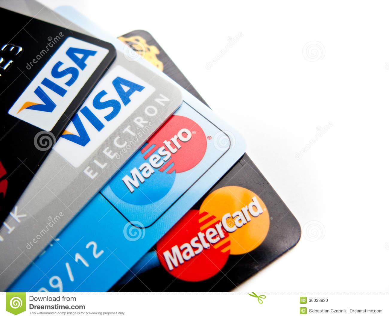Поделки банковских карт