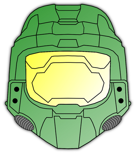 Master Chief Clipart.