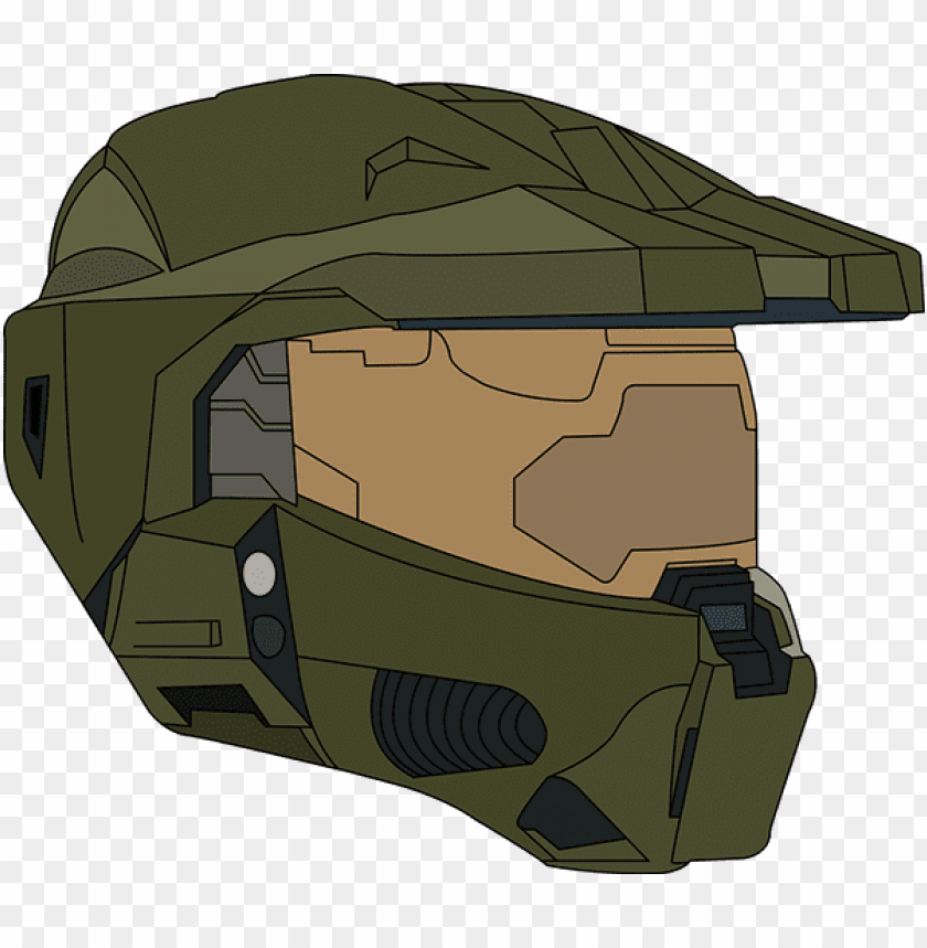 vector halo helmet png royalty free.