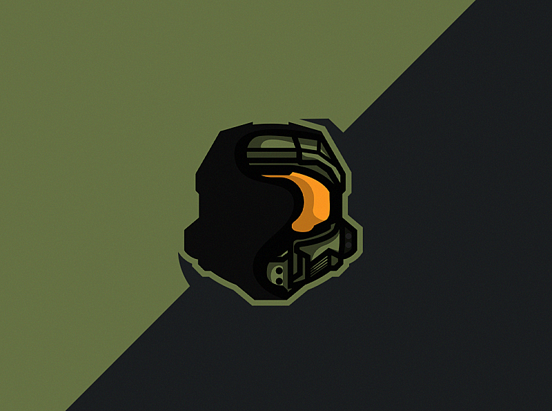 Master Chief by StarFish Designs on Dribbble.