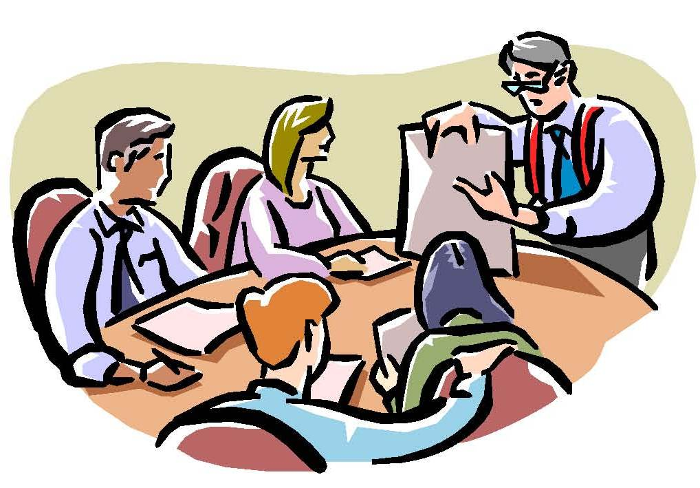 Meeting Sign Clipart.
