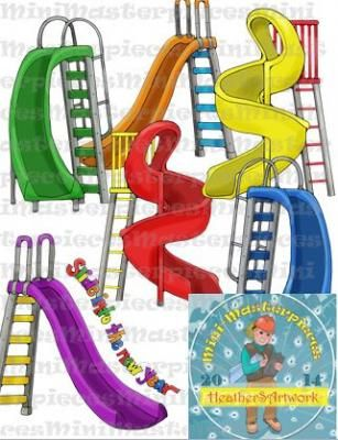 Teachers Notebook=Clip Art: Slide and Step into Back to School by.