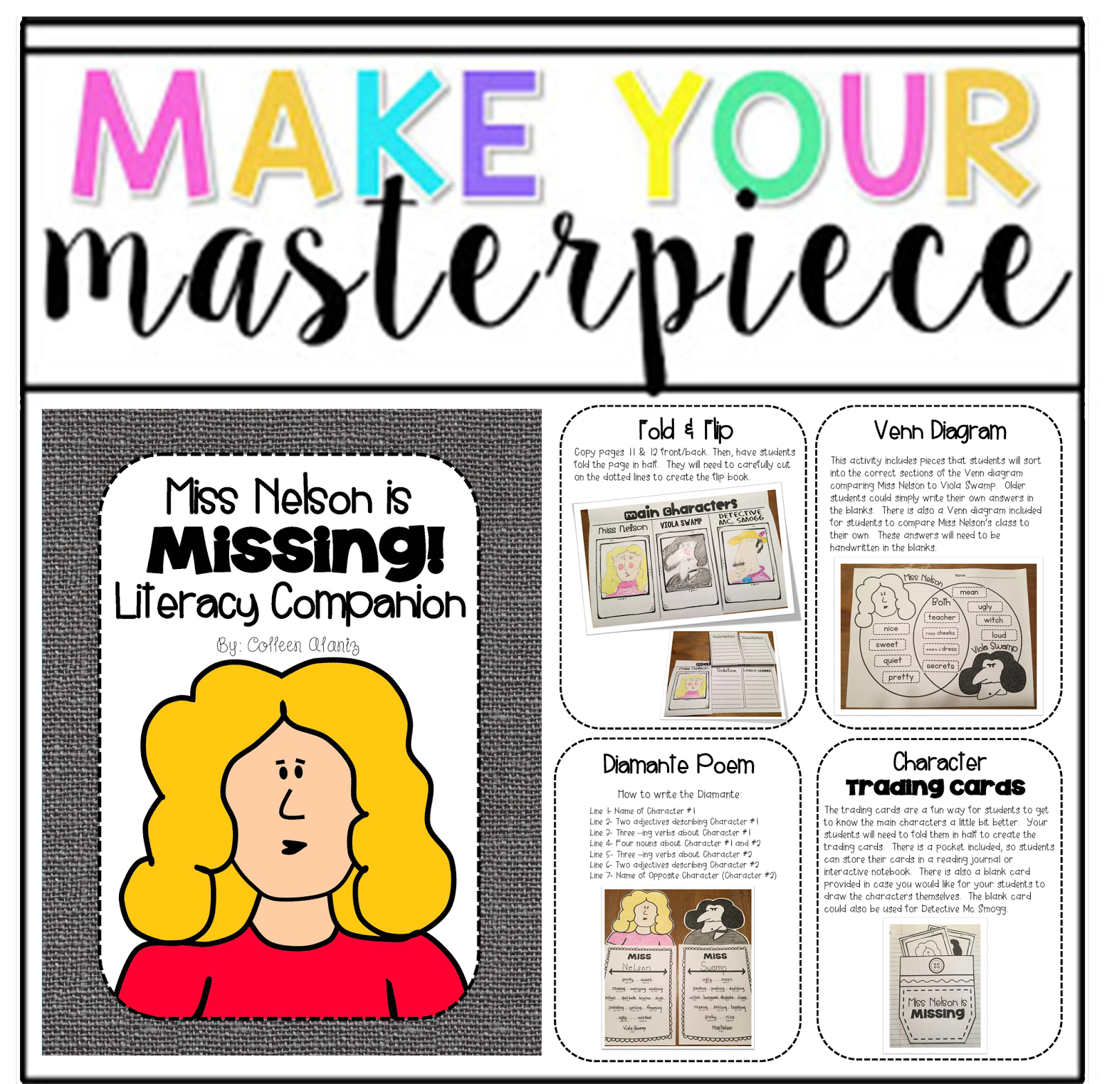 Totally Terrific in Texas: TPT Seller Challenge: Make Your Masterpiece.