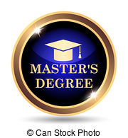 Masters degree clipart.