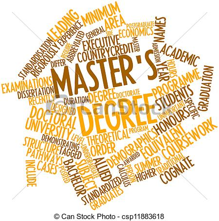 Master degree clipart.
