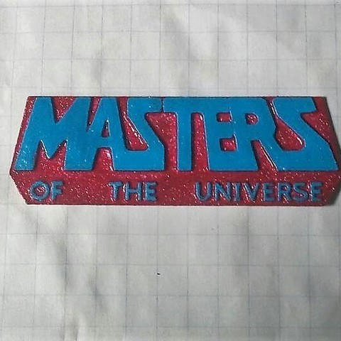 Masters of the Universe Logo.