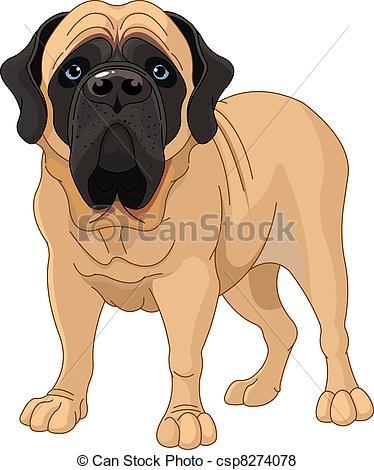 Mastiff Stock Illustrations. 446 Mastiff clip art images and.