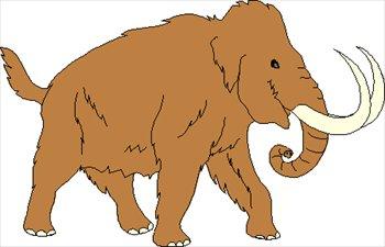 Mastodon Clipart.
