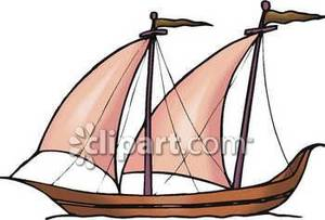 Ship masts clipart #3