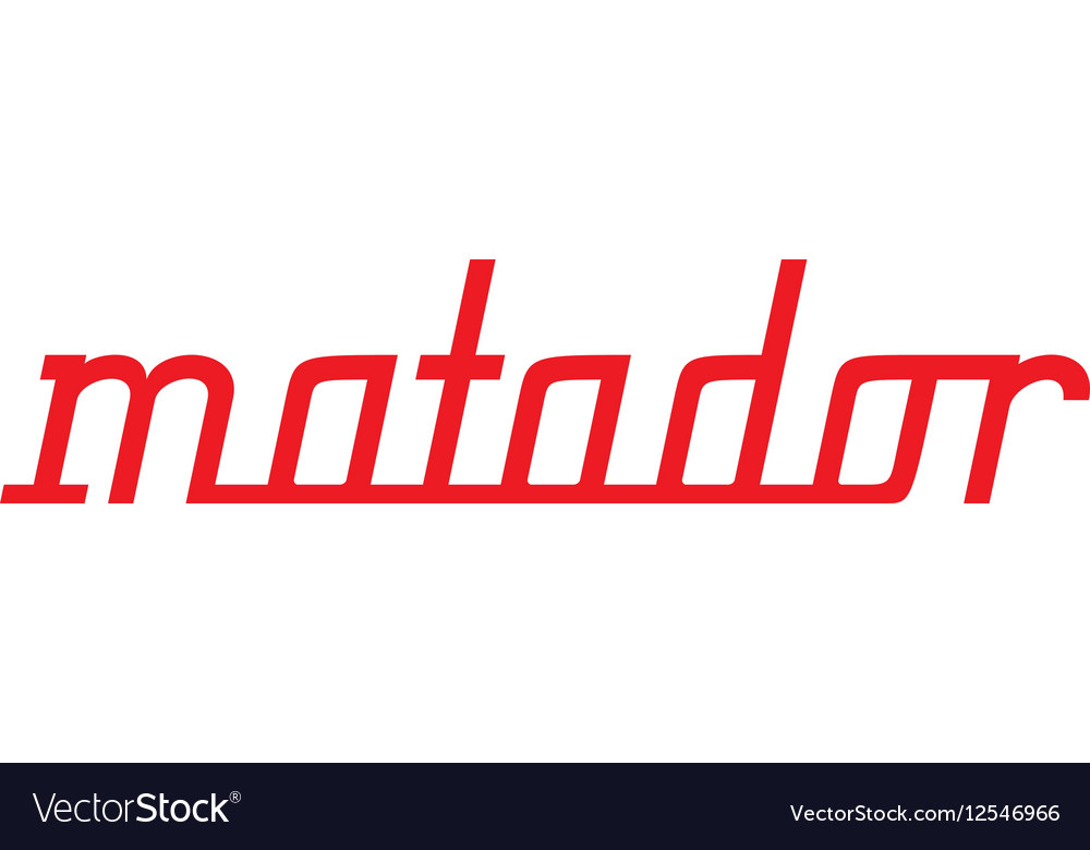 Stirling Matador Yacht Logo.