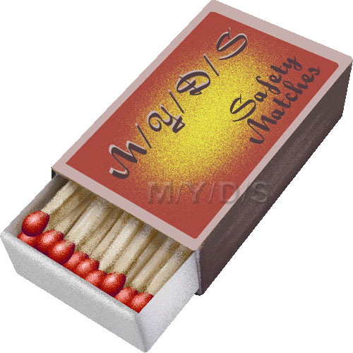 A box of safety matches clipart / Free clip art.