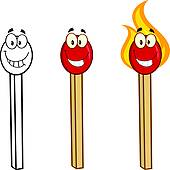 Match Stick Clip Art.